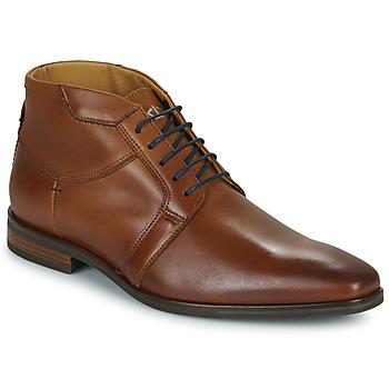 Zapatos Hombre Botas de caña baja Carlington JESSY Cognac