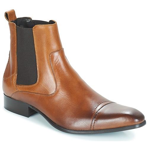 Zapatos Hombre Botas de caña baja Carlington ERINZI Cognac