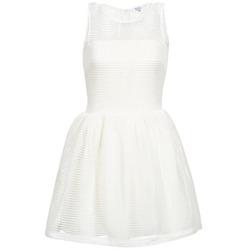 textil Mujer vestidos cortos Brigitte Bardot AGNES Blanco