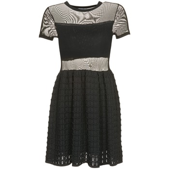 textil Mujer vestidos cortos Brigitte Bardot ALBERTINE Negro
