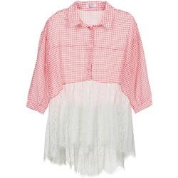 textil Mujer camisas Brigitte Bardot AMBRE Rojo / Blanco