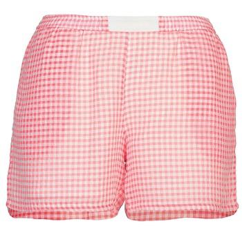 textil Mujer Shorts / Bermudas Brigitte Bardot ANNE Rojo / Blanco