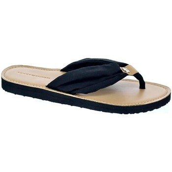 Zapatos Mujer Chanclas Tommy Hilfiger Footbed Beach Negro