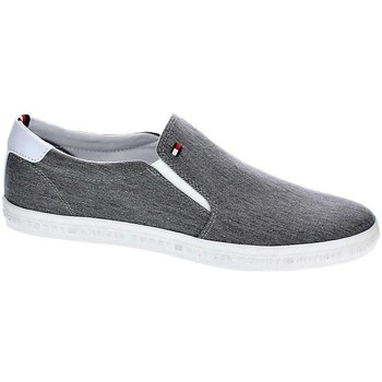 Zapatos Hombre Slip on Tommy Hilfiger Essencial Slip On Gris
