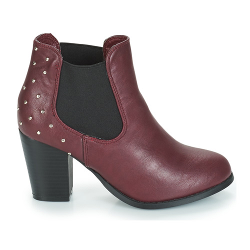 Zapatos Mood Moony Mujer Burdeo Botines Jurdean OPTXikZu