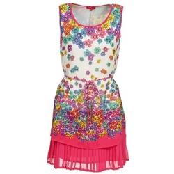 textil Mujer vestidos cortos Derhy BARMAN Crudo / Rosa