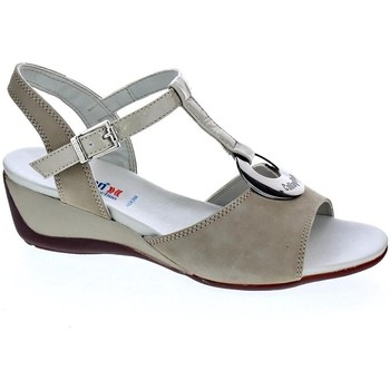 Zapatos Mujer Sandalias CallagHan 41116 Beige