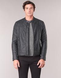 textil Hombre Chaquetas de cuero / Polipiel Esprit VENI Negro