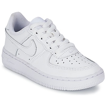 the best attitude 352d5 de237 Zapatos Niños Zapatillas bajas Nike AIR FORCE 1 Blanco