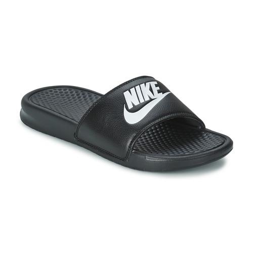 Zapatos Hombre Chanclas Nike BENASSI JUST DO IT Negro