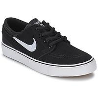 Zapatos Niños Zapatillas bajas Nike STEFAN JANOSKI ENFANT Negro