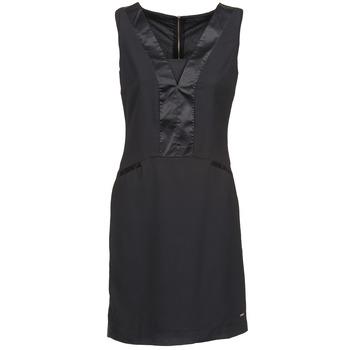 textil Mujer vestidos cortos La City CLAUDIA Negro