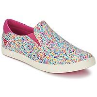 Zapatos Mujer Slip on Gola DELTA LIBERTY KT Blanco / Rosa / Azul