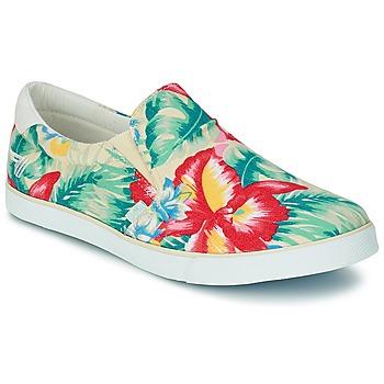 Zapatos Mujer Slip on Gola DELTA HIBISCUS Crudo / Multicolor