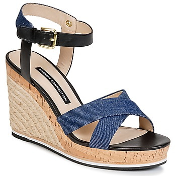 Zapatos Mujer Sandalias French Connection LATA Azul / Denim