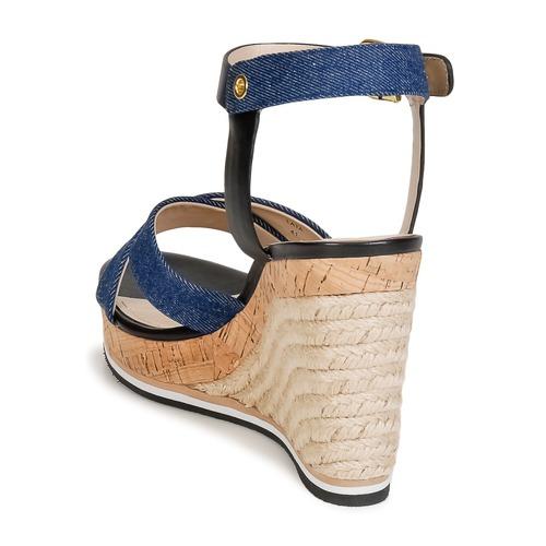 Lata Sandalias Connection Zapatos Mujer French AzulDenim 9EDH2IW