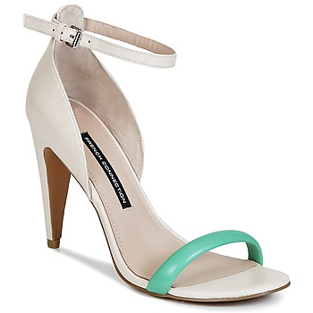 Zapatos Mujer Sandalias French Connection NANETTE Rosa / Verde