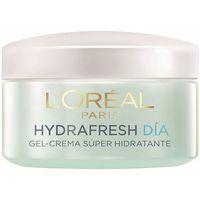 Belleza Mujer Hidratantes & nutritivos L'oréal Hydrafresh Gel-crema Día Piel Mixta  50 ml