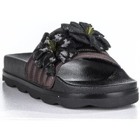 Zapatos Mujer Zuecos (Mules) Sixty Seven Sandalia abierta flores Negro
