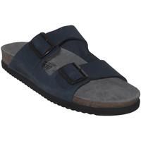 Zapatos Hombre Zuecos (Mules) Mephisto NERIO Nubuck azul marino