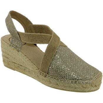 Zapatos Mujer Alpargatas Toni Pons Triton Beige/ platino