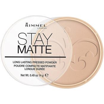 Belleza Mujer Colorete & polvos Rimmel London Stay Matte Pressed Powder 005-silky Beige 14 Gr 14 g