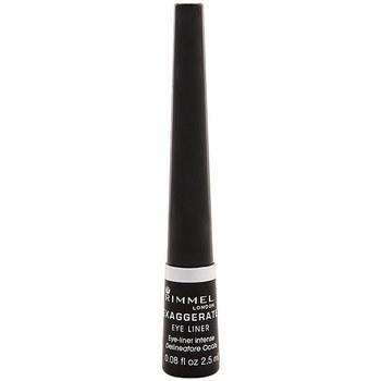 Belleza Mujer Lápiz de ojos Rimmel London Exaggerate Liquid Eye Liner 001-black 2,5 ml