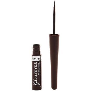 Belleza Mujer Lápiz de ojos Rimmel London Glam'Eyes Professional Liquid Eye Liner 002 -brown