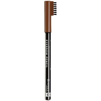 Belleza Mujer Perfiladores cejas Rimmel London Professional Eye Brow Pencil 002 -hazel 1 u