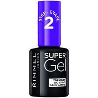 Belleza Mujer Esmalte para uñas Rimmel London Super Gel Top Coat 001  12 ml