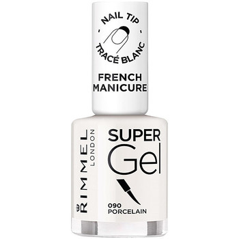 Belleza Mujer Esmalte para uñas Rimmel London French Manicure Super Gel 090-porcelain