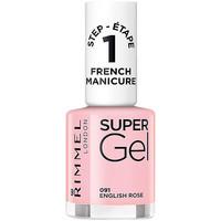 Belleza Mujer Esmalte para uñas Rimmel London French Manicure Super Gel 091-english Rose