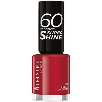 Belleza Mujer Esmalte para uñas Rimmel London 60 Seconds Super Shine 315-queen Of Tarts