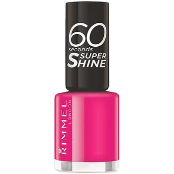 Belleza Mujer Esmalte para uñas Rimmel London 60 Seconds Super Shine 323-funtime Fuchsia