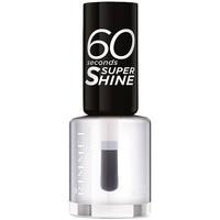 Belleza Mujer Esmalte para uñas Rimmel London 60 Seconds Super Shine 740-clear
