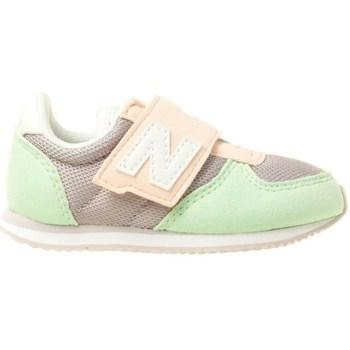 Zapatos Niños Zapatillas bajas New Balance 220 Grises, Rosa, Verde claro