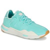 Zapatos Mujer Zapatillas bajas Le Coq Sportif SOLAS W SUMMER FLAVOR Azul