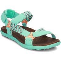 Zapatos Mujer Sandalias Merrell Around Town Sunvue Woven Verdes