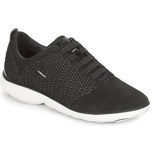 modelo más vendido de la marcaGeox D NEBULA Negro - Envío gratis Nueva promoción - Zapatos Deportivas bajas Mujer  Negro