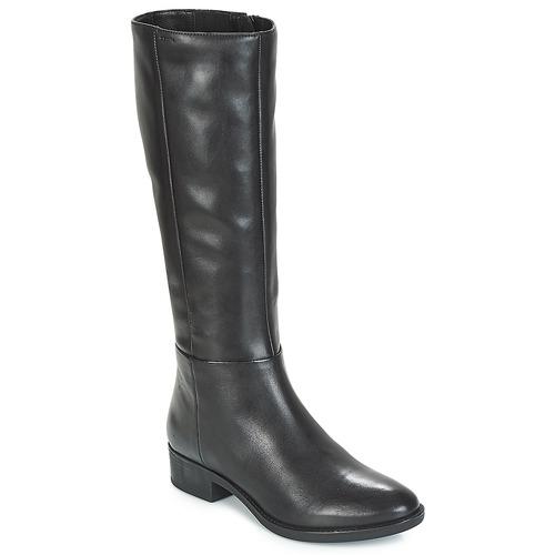 Zapatos Mujer Botas urbanas Geox D FELICITY Negro