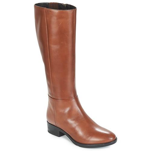 bastante baratas descubre las últimas tendencias estilo de moda Geox D FELICITY Marrón - Envío gratis   Spartoo.es ! - Zapatos ...
