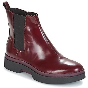 Zapatos Mujer Botas de caña baja Geox D MYLUSE Burdeo