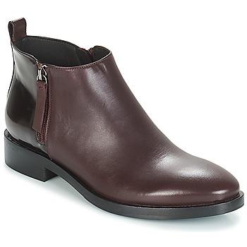 Zapatos Mujer Botines Geox DONNA BROGUE Burdeo