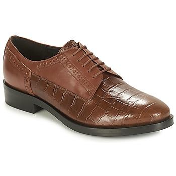 Zapatos Mujer Derbie Geox DONNA BROGUE Marrón