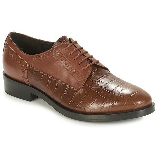 Cómodo y bien parecido Zapatos especiales Geox DONNA BROGUE Marrón