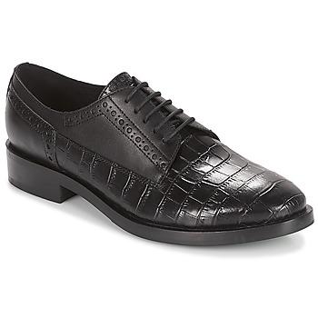 Zapatos Mujer Derbie Geox DONNA BROGUE Negro