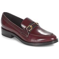 Zapatos Mujer Mocasín Geox DONNA BROGUE Burdeo / Negro