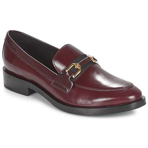 Los zapatos más populares para hombres y mujeres Zapatos especiales Geox DONNA BROGUE Burdeo / Negro