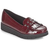Zapatos Mujer Mocasín Geox D BLENDA Burdeo