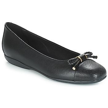 Zapatos Mujer Bailarinas-manoletinas Geox D ANNYTAH Negro